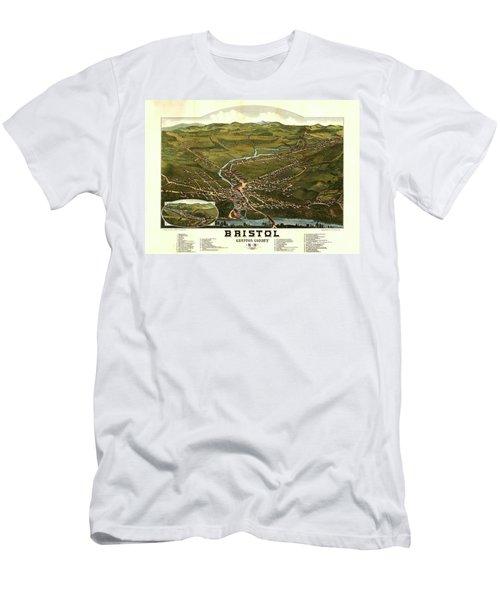 Bristol, Grafton County, N.h. Men's T-Shirt (Athletic Fit)