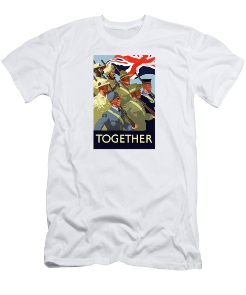 British Empire Soldiers Together Men's T-Shirt (Athletic Fit)