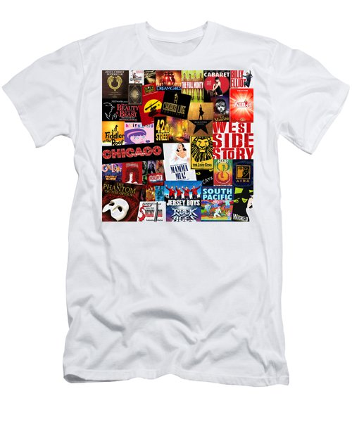 Broadway 10 Men's T-Shirt (Slim Fit) by Andrew Fare