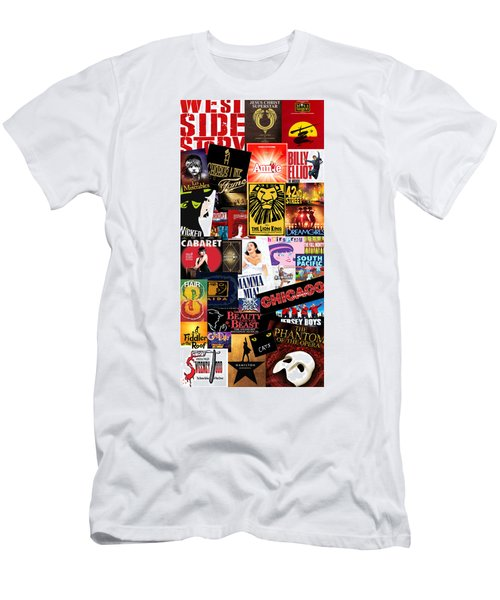 Broadway 9 Men's T-Shirt (Slim Fit) by Andrew Fare