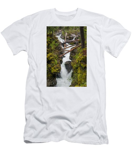 Broiling Rogue Gorge Men's T-Shirt (Slim Fit) by Greg Nyquist