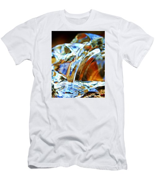 Broken Glass In A Stairwell Men's T-Shirt (Athletic Fit)