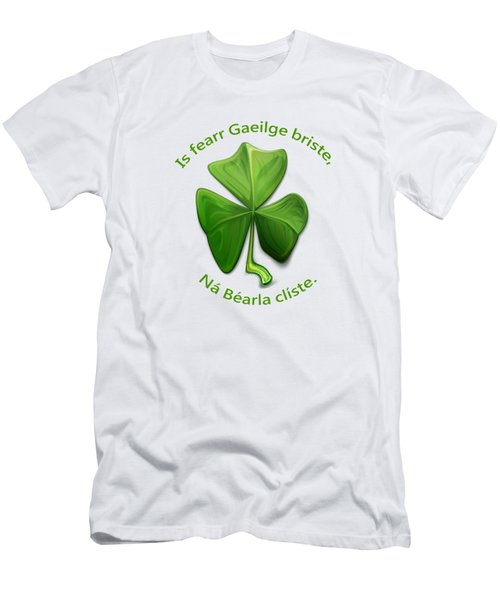 Broken Irish Is Better Than Clever English. Men's T-Shirt (Athletic Fit)