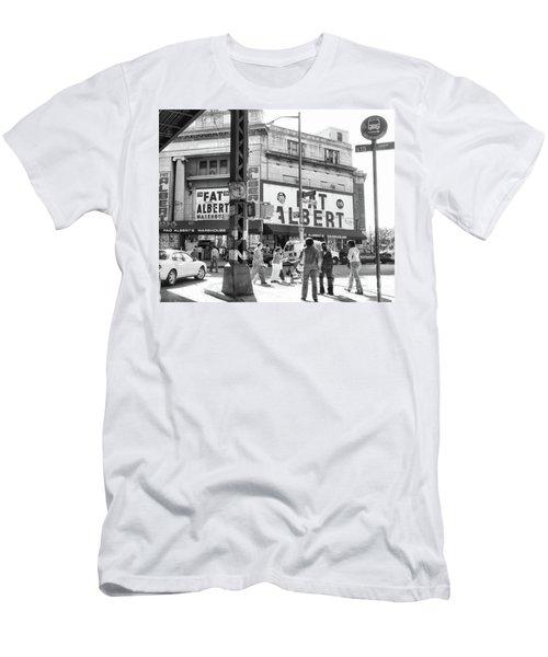 Brooklyn Fat Albert  Men's T-Shirt (Athletic Fit)