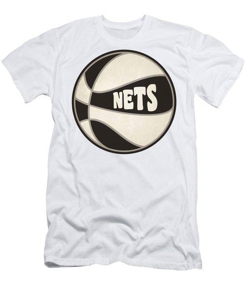 Brooklyn Nets Retro Shirt Men's T-Shirt (Athletic Fit)