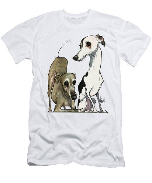 Brown 7-1512 Men's T-Shirt (Athletic Fit)