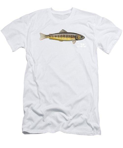 Brown Trout - Autochthonous - Indigenous - Salmo Trutta Morpha Fario - Salmo Trutta Fario Men's T-Shirt (Athletic Fit)