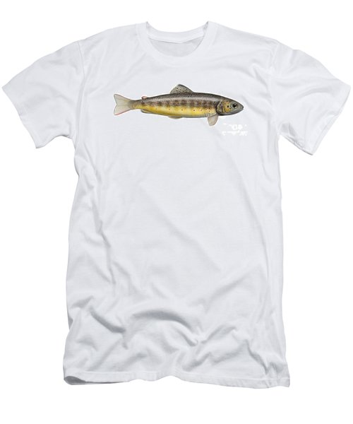 Brown Trout - Autochthonous - Indigenous - Salmo Trutta Morpha Fario - Salmo Trutta Fario Men's T-Shirt (Athletic Fit)