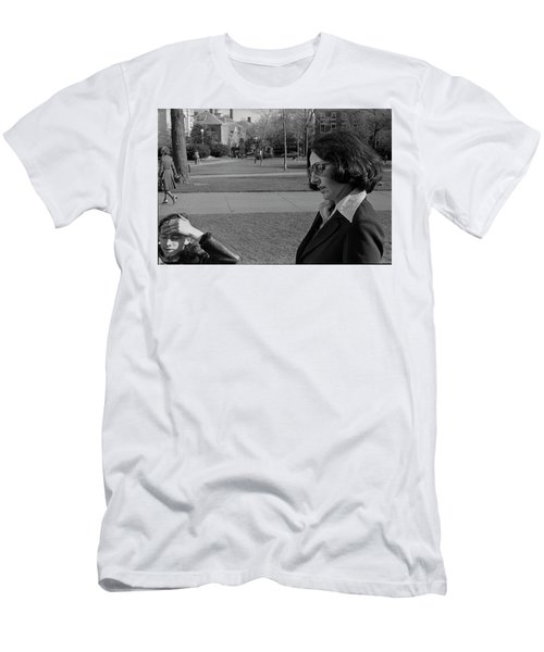 Brown University Student And His Mother, 1975 Men's T-Shirt (Athletic Fit)