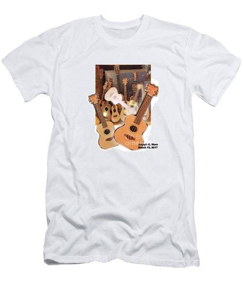 Bruce's Ukuleles Men's T-Shirt (Athletic Fit)