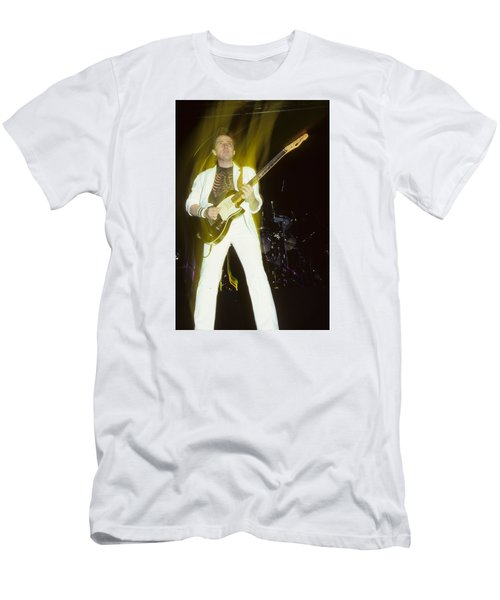 Buck Dharma Of Blue Oyster Cult Men's T-Shirt (Athletic Fit)