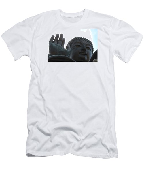 Buddha At Ngong Ping Village, Hong Kong Men's T-Shirt (Athletic Fit)