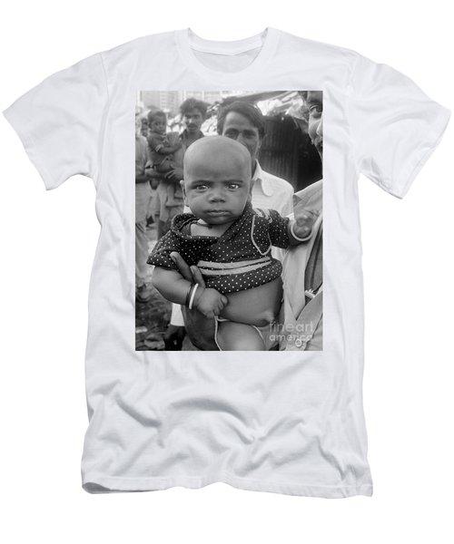 Buddha Baby, Mumbai India  Men's T-Shirt (Athletic Fit)