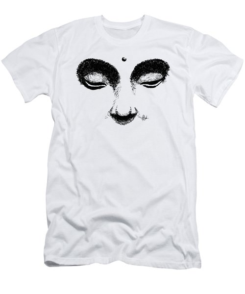 Buddha Eyes T-shirt Men's T-Shirt (Athletic Fit)