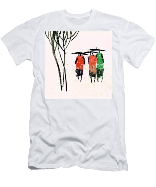 Buddies 3 Men's T-Shirt (Slim Fit) by Anil Nene