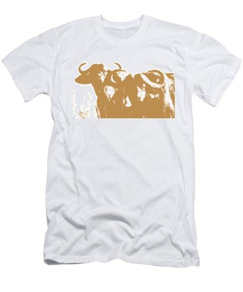 Buffalo 3 Men's T-Shirt (Athletic Fit)