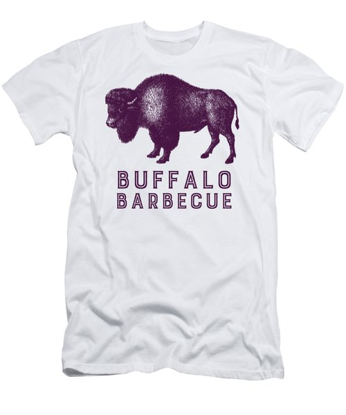 Buffalo Barbecue Men's T-Shirt (Slim Fit) by Antique Images
