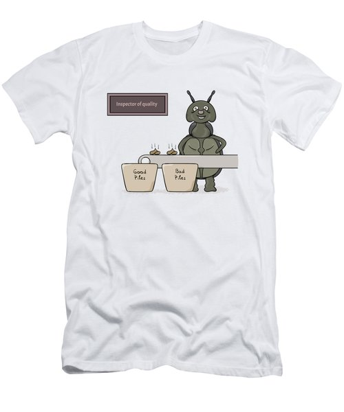 Bug As A Inspector Of Quality Men's T-Shirt (Athletic Fit)