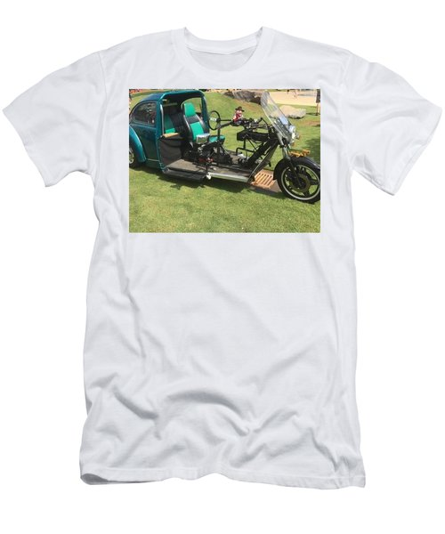 Men's T-Shirt (Athletic Fit) featuring the photograph Bug Trike by Aaron Martens