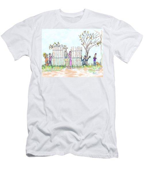 Building The Sukkot Men's T-Shirt (Athletic Fit)