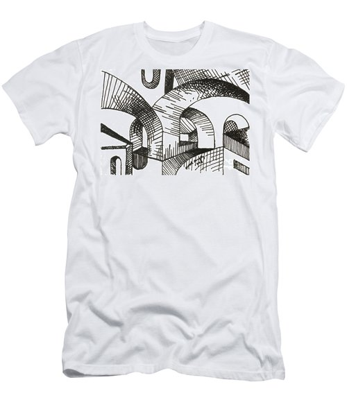 Buildings 1 2015 - Aceo Men's T-Shirt (Athletic Fit)