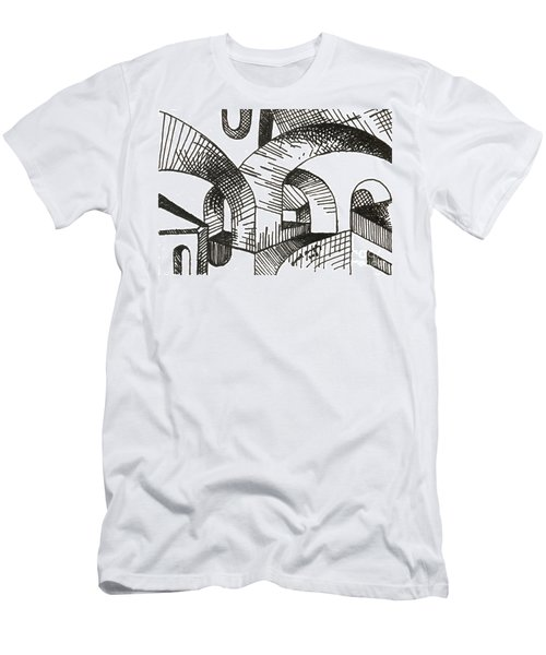 Buildings 1 2015 - Aceo Men's T-Shirt (Athletic Fit)