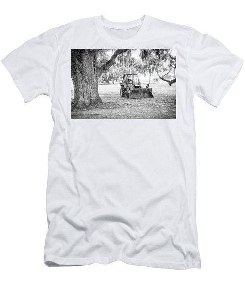Bulldozer Men's T-Shirt (Athletic Fit)