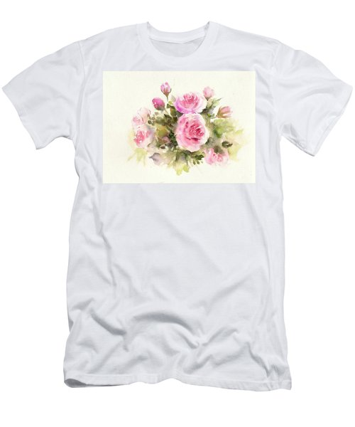 Bunch Of Roses Men's T-Shirt (Athletic Fit)