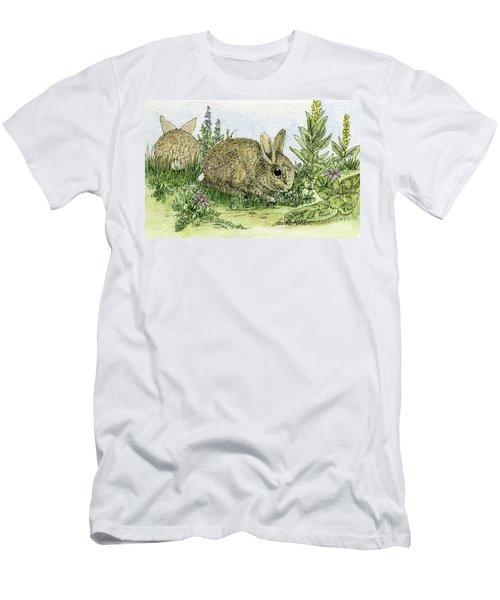 Bunnies Men's T-Shirt (Athletic Fit)