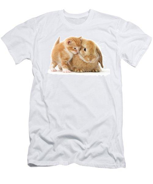 Bunny Love Men's T-Shirt (Athletic Fit)