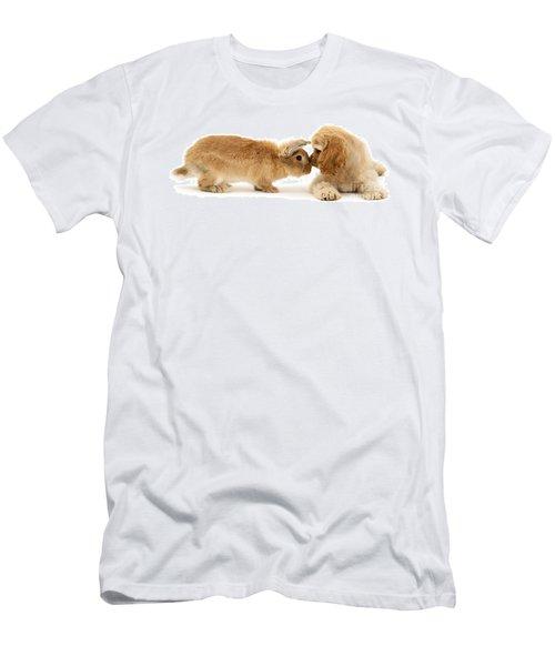 Bunny Nose Best Men's T-Shirt (Athletic Fit)