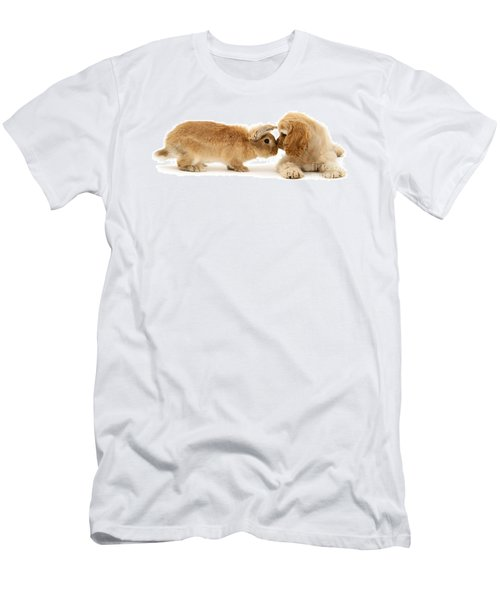 Bunny Nose Best Men's T-Shirt (Athletic Fit)