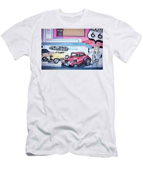 Burger Hut Men's T-Shirt (Athletic Fit)