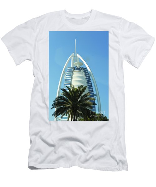 Burj Al Arab Men's T-Shirt (Athletic Fit)