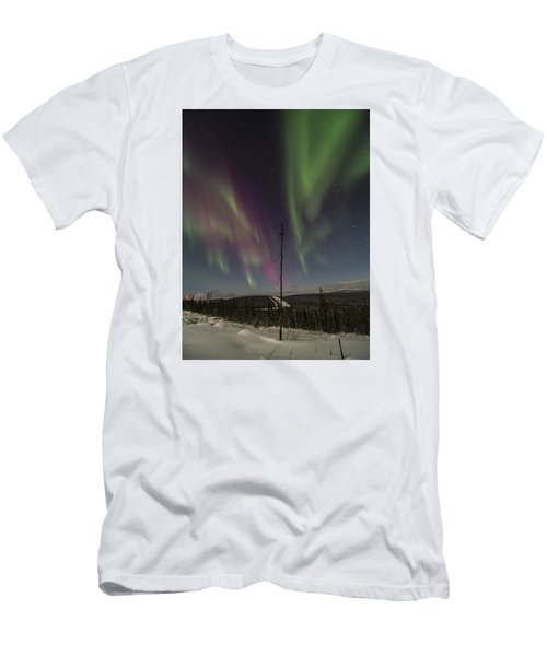 Butterfly Aurora Men's T-Shirt (Athletic Fit)