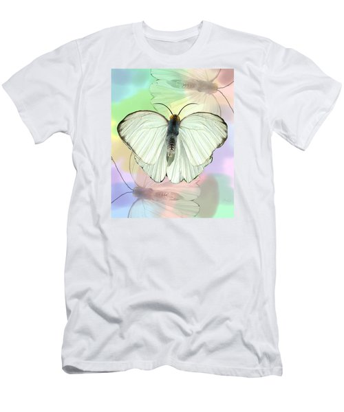 Butterfly, Butterfly Men's T-Shirt (Slim Fit) by Rosalie Scanlon