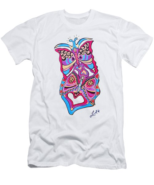 Butterfly Totem Men's T-Shirt (Athletic Fit)