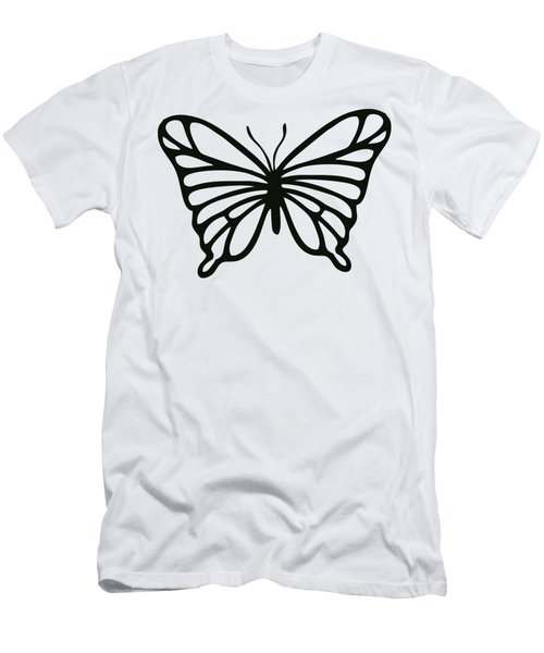 Men's T-Shirt (Athletic Fit) featuring the digital art Butterfly  by Donna Mibus