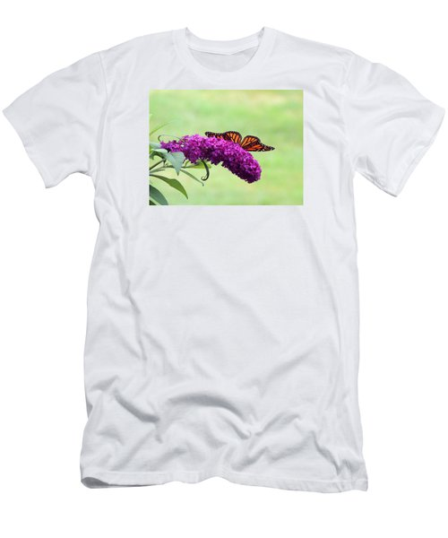Men's T-Shirt (Slim Fit) featuring the photograph Butterfly Wings by Teresa Schomig