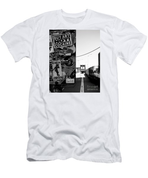 Buy Art Not Cocaine Men's T-Shirt (Athletic Fit)