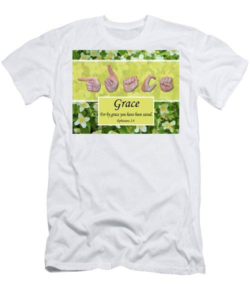 By Grace Men's T-Shirt (Athletic Fit)