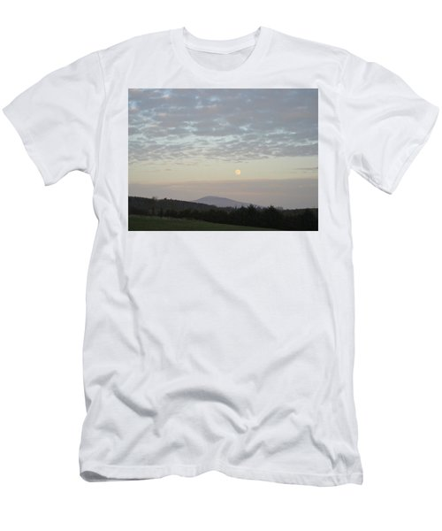 Men's T-Shirt (Slim Fit) featuring the photograph By The Rising Of The Moon by Suzanne Oesterling
