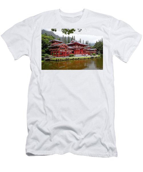 Byodo-in Temple Oahu Men's T-Shirt (Athletic Fit)