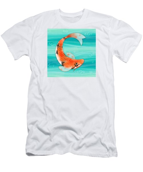 C Is For Cal The Curious Carp Men's T-Shirt (Athletic Fit)