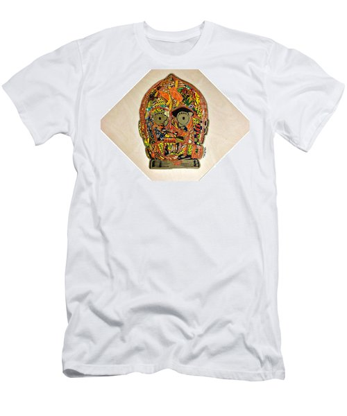 C3po Star Wars Afrofuturist Collection Men's T-Shirt (Athletic Fit)