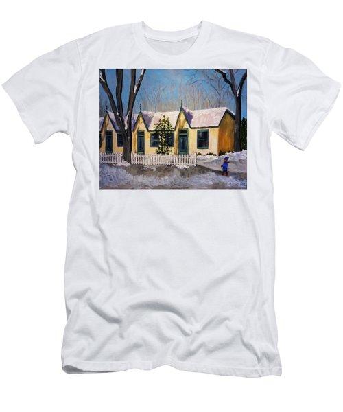 Cabbagetown Christmas Men's T-Shirt (Slim Fit)