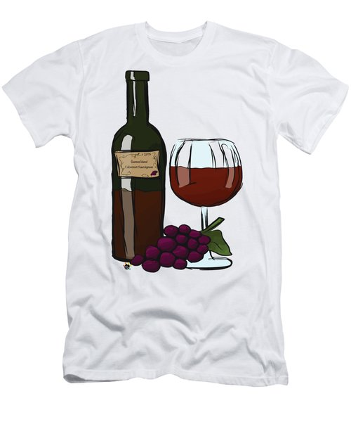 Cabernet Sauvignon Men's T-Shirt (Athletic Fit)