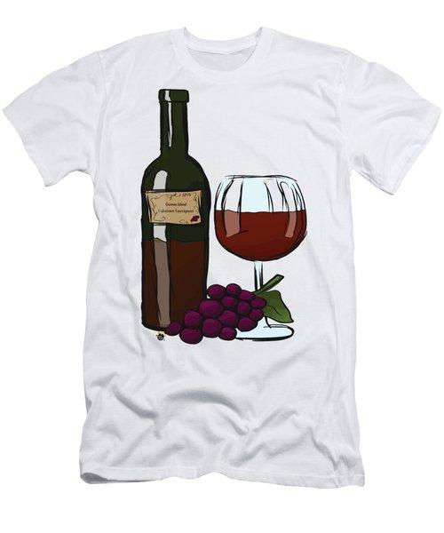 Cabernet Sauvignon Men's T-Shirt (Athletic Fit)