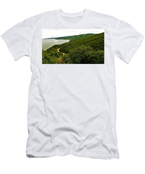 Cabot Trail 5 Men's T-Shirt (Athletic Fit)