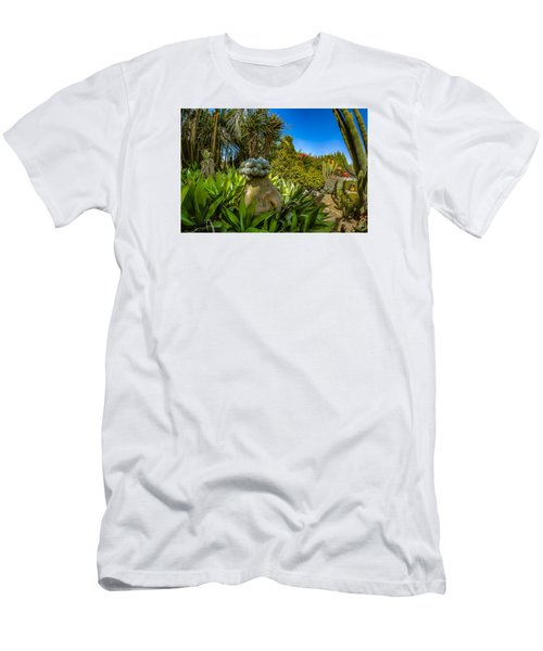 Cactus Paradise Men's T-Shirt (Athletic Fit)